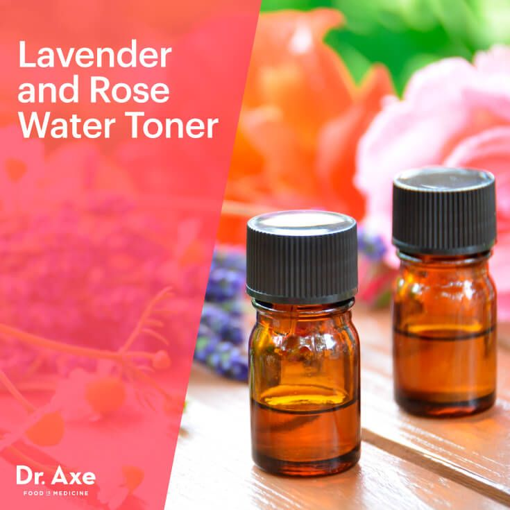 Hydrating Lavender And Rose Water Toner Recipe Natural Skin
