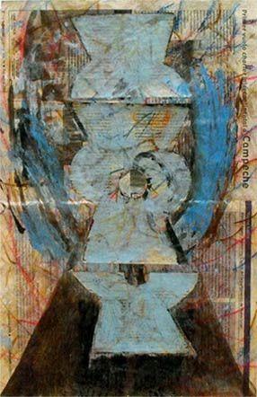 Glifos pintura por Jose Francisco