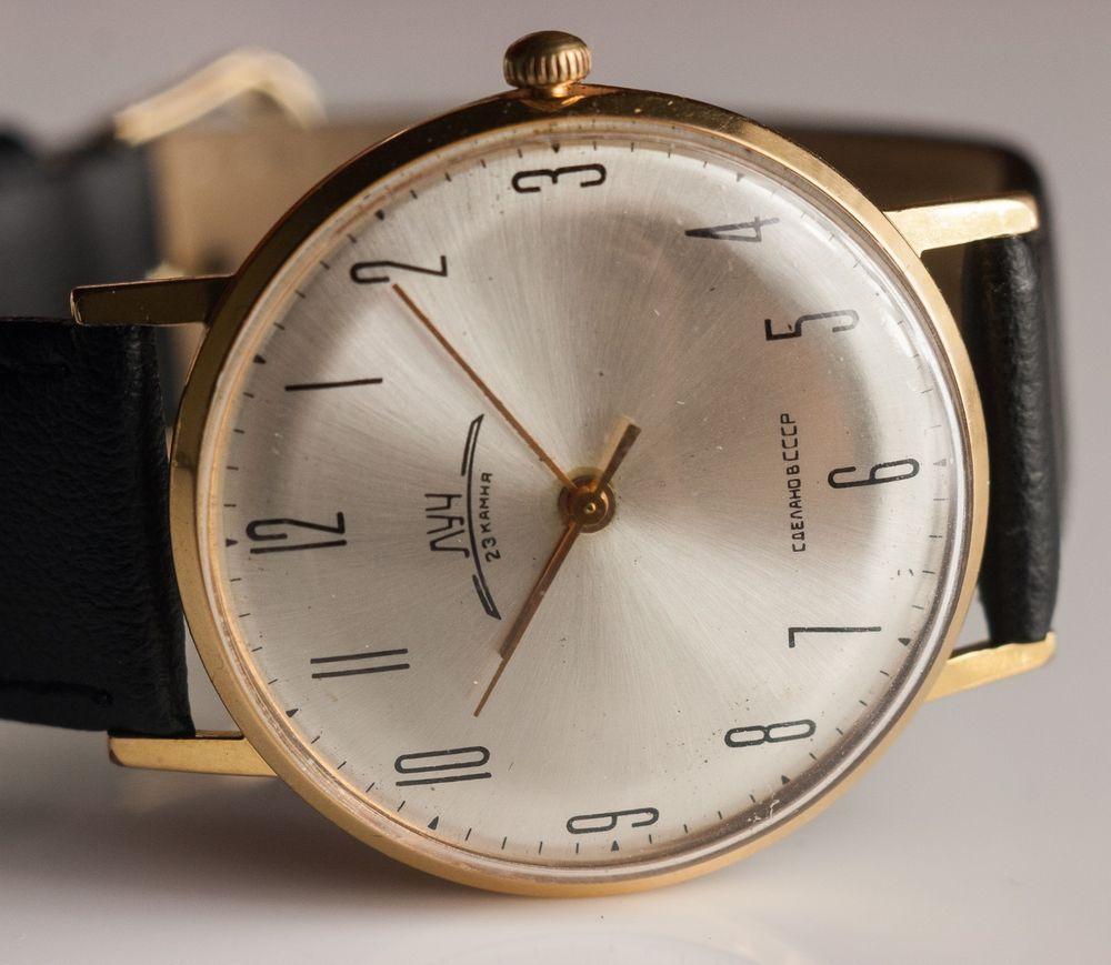 LUCH 2209 23J Soviet USSR Watches Mechanical Ultra Slim ...