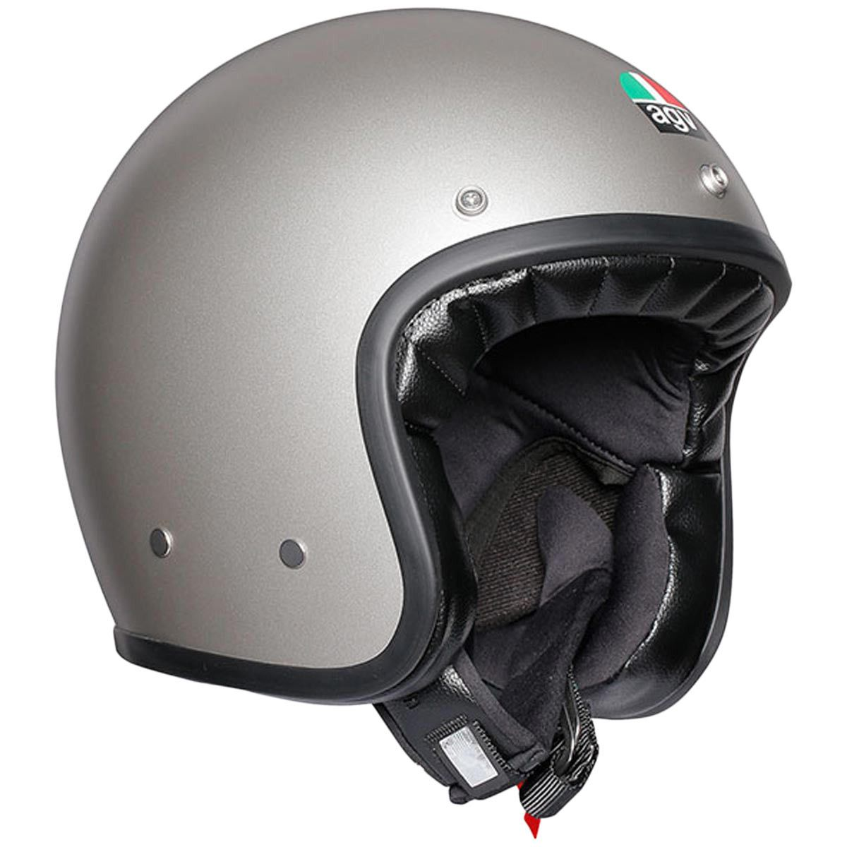d723629234937 AGV X70 Mono Helmet in Matt Grey - Great for cruising the countryside or  nipping through traffic in the city streets. A double-D closure ensures a  safe fit ...