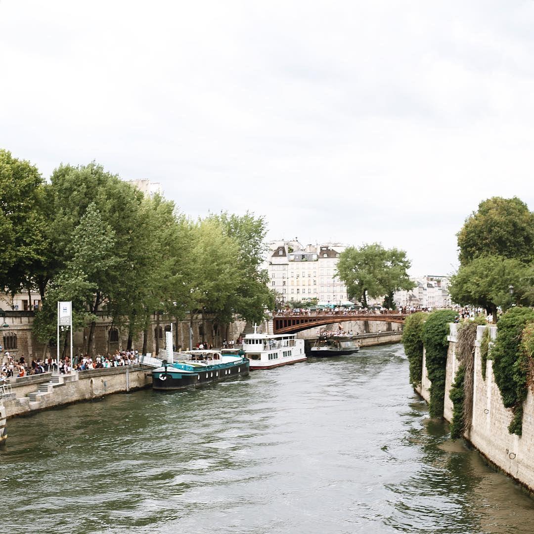 """Take me to the river  #paris #seineriver"""