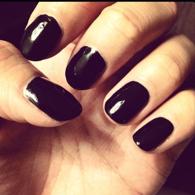 emo nails style nail