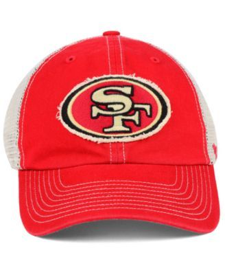 1a0e1dffc8b304 '47 Brand San Francisco 49ers Canyon Mesh Clean Up Cap - Red Adjustable