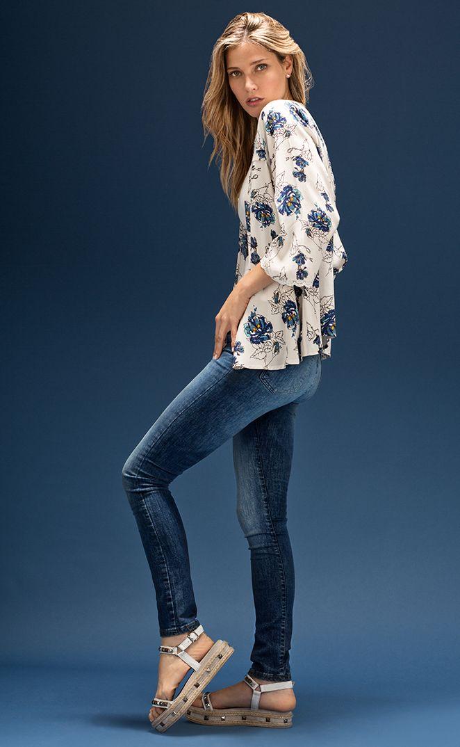 De moda del verano camisas mujer Blusas de manga corta