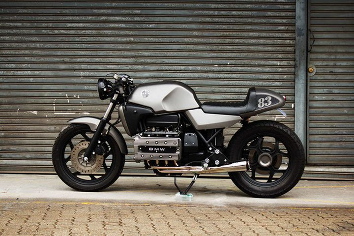 Awesome BMW K100 Cafe Racer by Flying Brick #caferacer #motorcycles #motos   caferacerpasion.com
