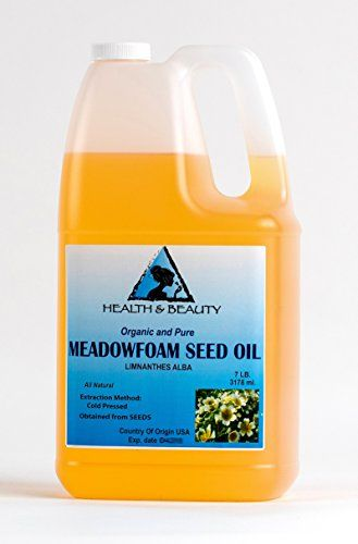 Introducing Meadowfoam Seed Oil Organic Carrier Expeller Pressed 100 Pure 128 oz 7 LB 1 gal. Get Your Ladies Products Here and follow us for more updates!