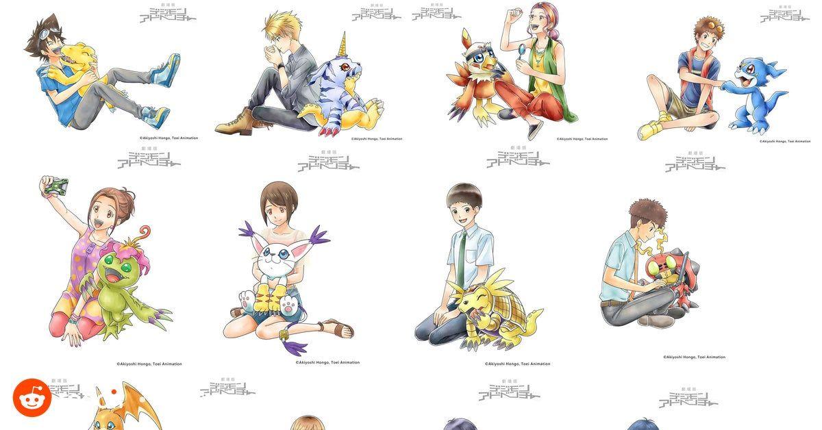 Clean Versions Of Animate Digimon Adventure Last Evolution Kizuna Art More Standees Digimon In 2020 Digimon Adventure Digimon Digimon Digital Monsters