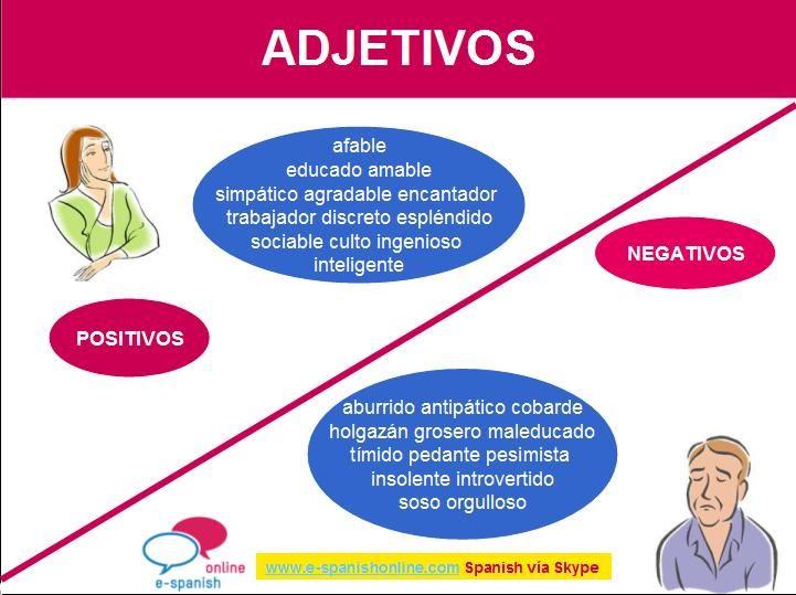 B1 Adjetivos De Personadilad Con Imagenes Adjetivos