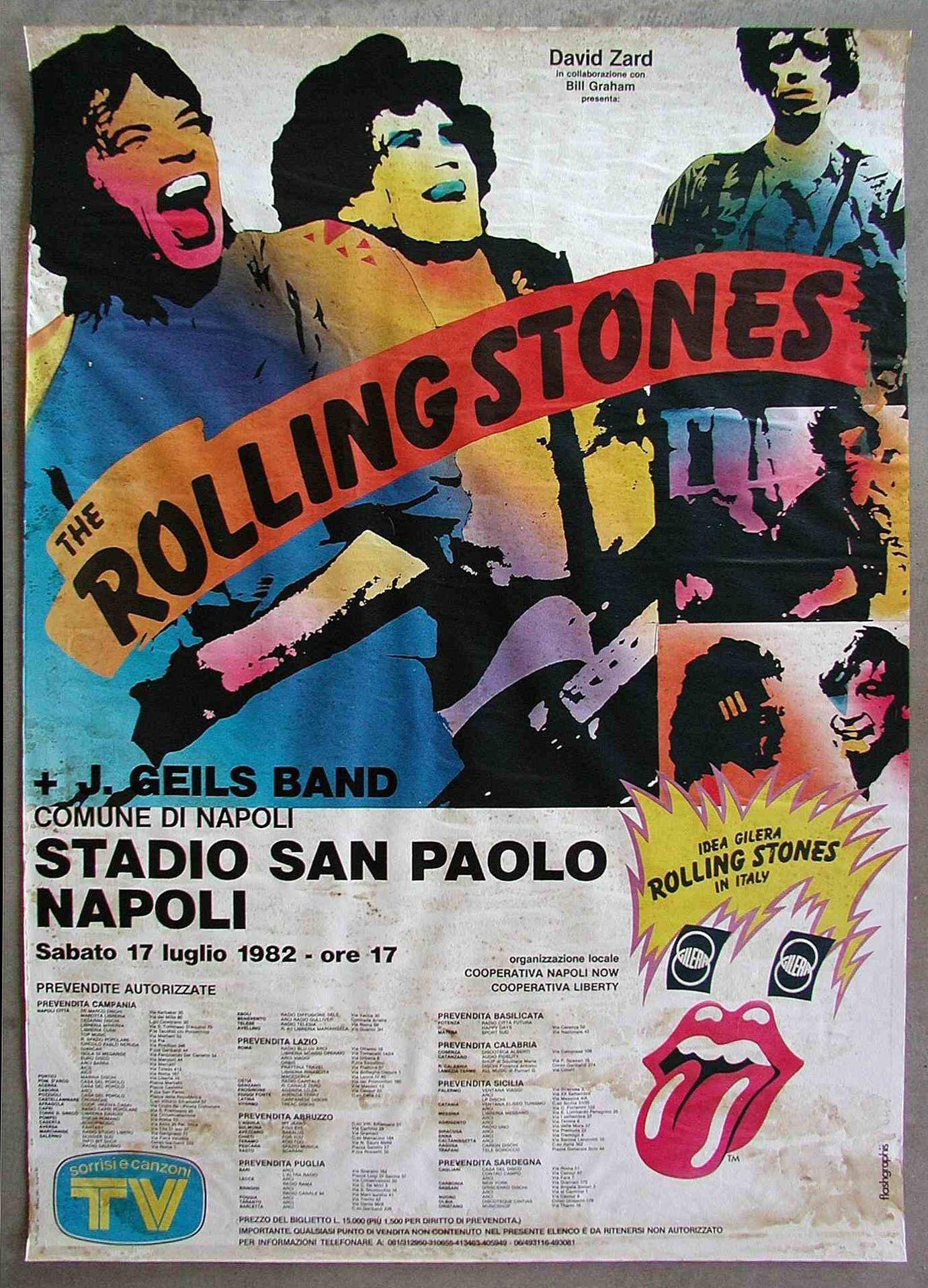 Rolling Stones, J.Geils Band Tour 1973