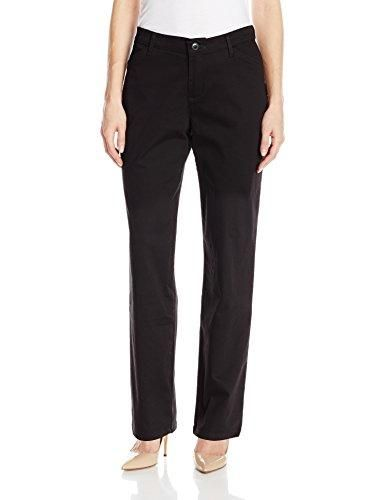 Velucci Womens Straight Leg Dress Pants Stretch Slim Fit Pull On Style Trousers Casual Business Work