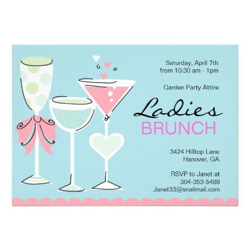 ladies spring brunch invitations unique divorce fiestas mardi