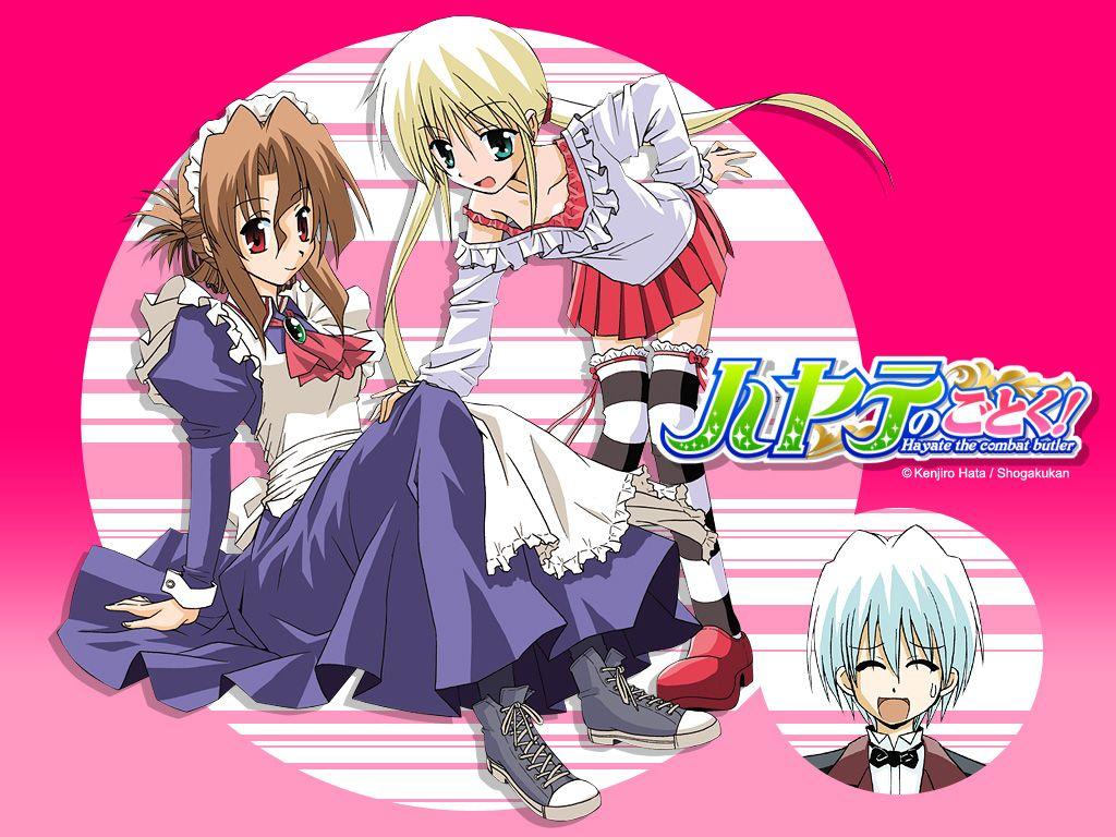 Hayate no gotoku best comedy anime hayate anime