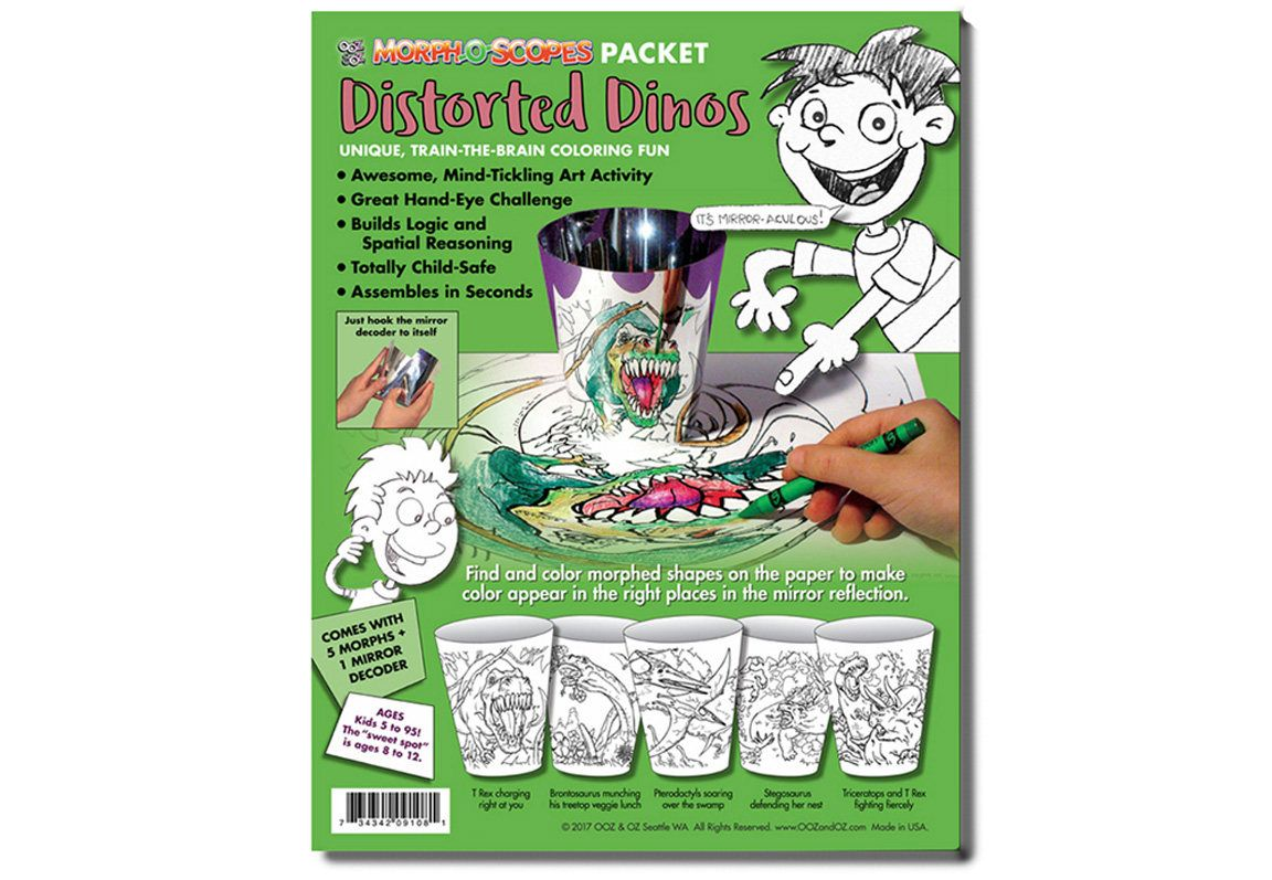Kids\' Dinosaur Coloring Pages, a new twist on plain old coloring ...