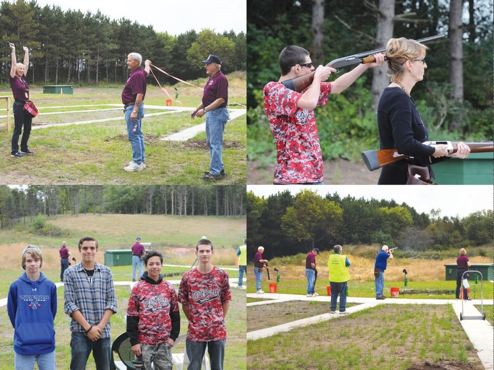 The Oakdale Gun Club celebrated the new trap shooting