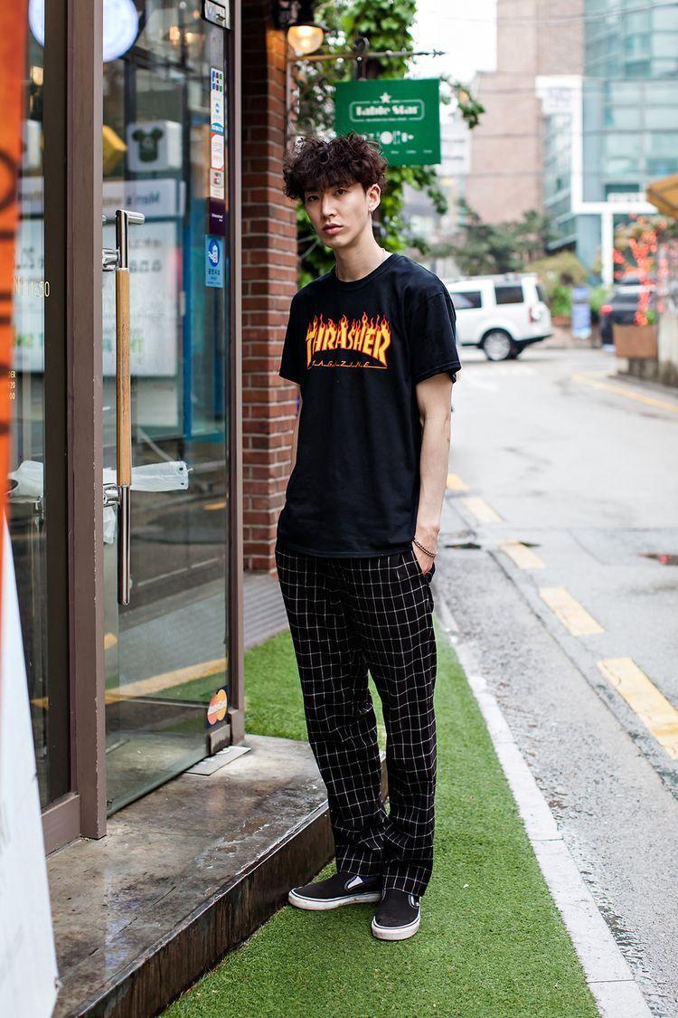 Pin By M Rizki On Self T Outfits And Style Ceviro Kyukei Clutch For Man Woman Korean Fashion Men Street Asian