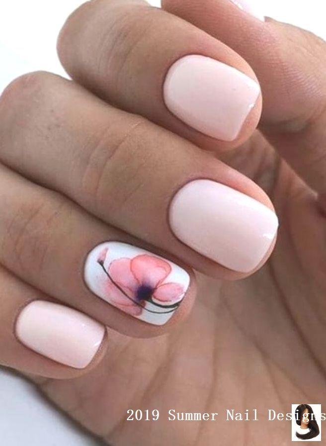 33 Cute Summer Nail Design Ideas 2019 2019nails 33 Cute Summer Nail Design Ideas 2019 2019nails T Short Square Nails Cute Summer Nail Designs Fashion Nails