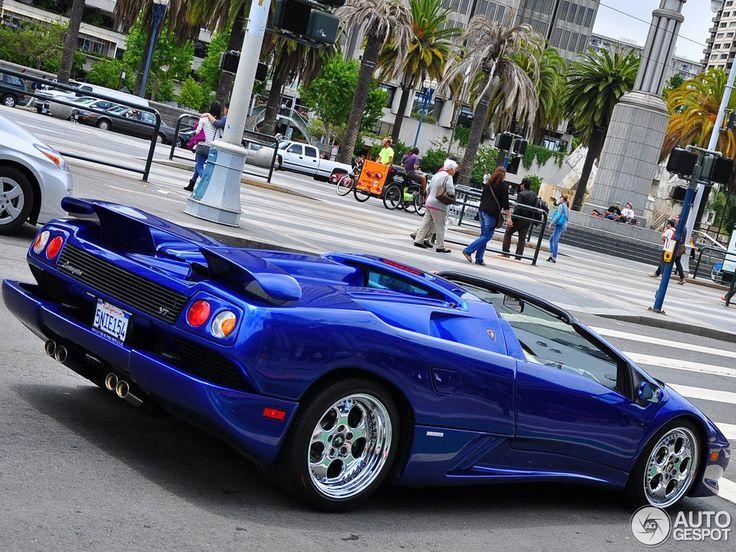 Delicieux Lamborghini · Lamborghini Diablo VT ...