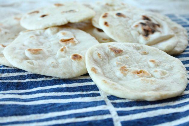 Homemade Pita Bread — Make+Haus