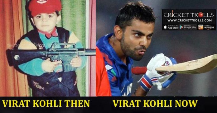 Virat Kohli Then Now Virat Kohli Cricket Cricket Time