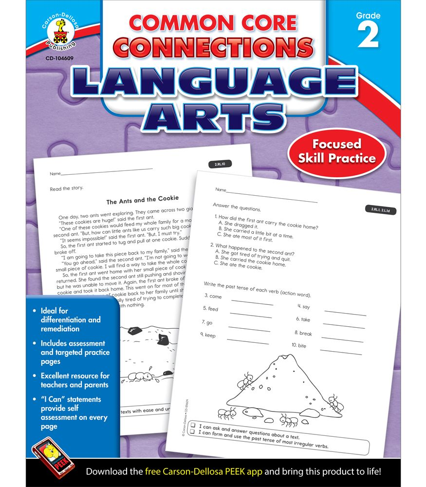 #CDWish13 Common Core Connections: Language Arts is the ...