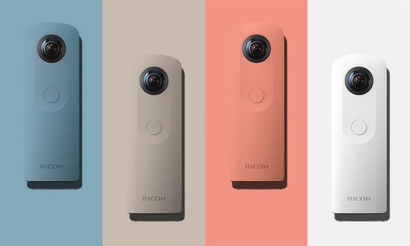 Phone Technology: In The News>> The new Ricoh Theta SC 360 degree camera is both small and easy to use