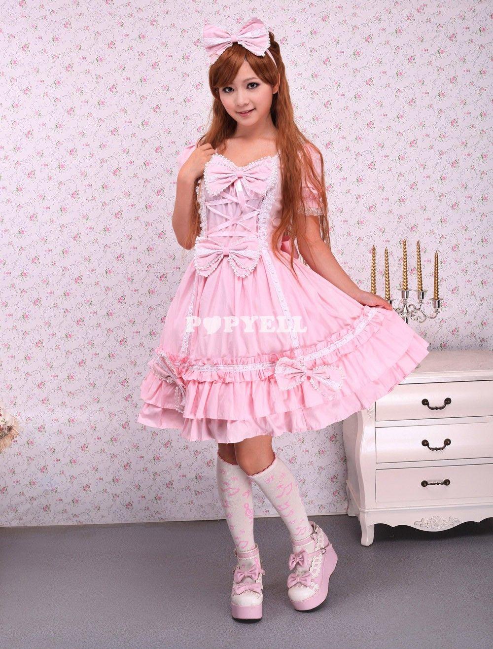 cotton pink cape sweet lolita dress 12659 1000 1316 fashions pinterest fashion. Black Bedroom Furniture Sets. Home Design Ideas