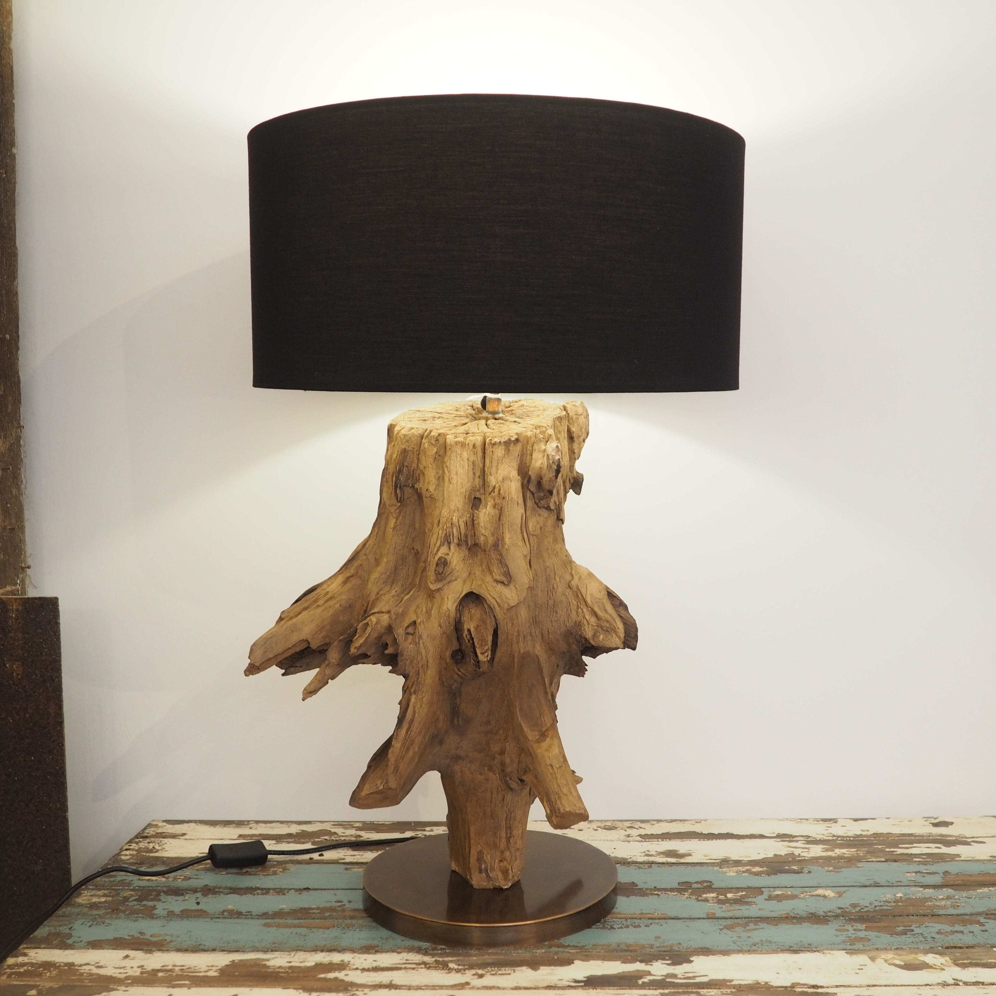 this create a illuminating rustic the while feel your pin lamps with table lamp activities black studio glass farmhouse