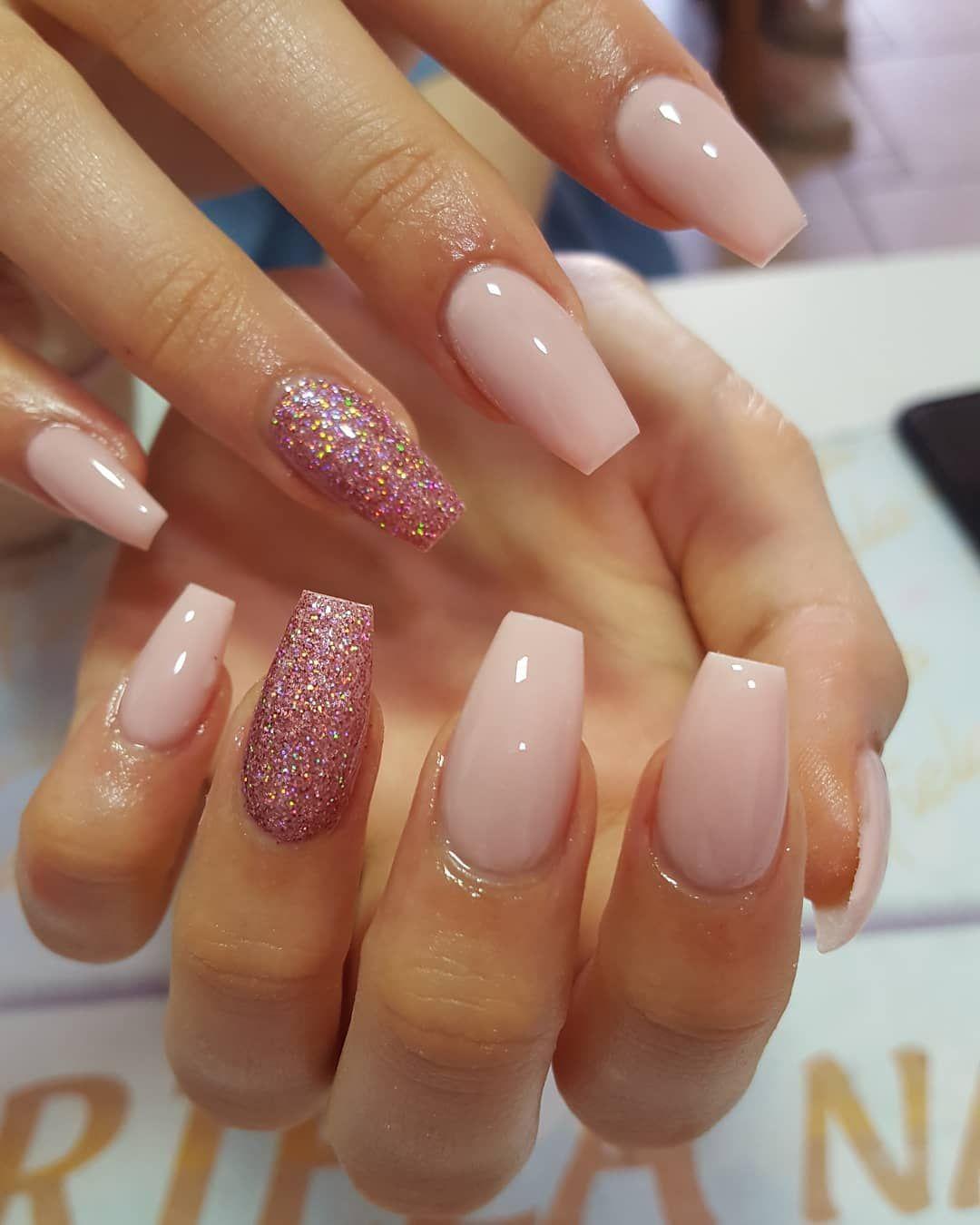 41 Beautiful Nude Nail art design - nail acrylic ,nails #nailart #nails #manicure #nail