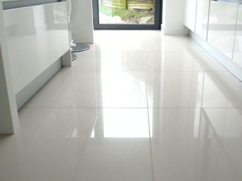 Brilliant White High Gloss Pre Sealed Porcelain Wall Floor Tiles White Tile Floor Cleaning Tile Floors Tile Bedroom