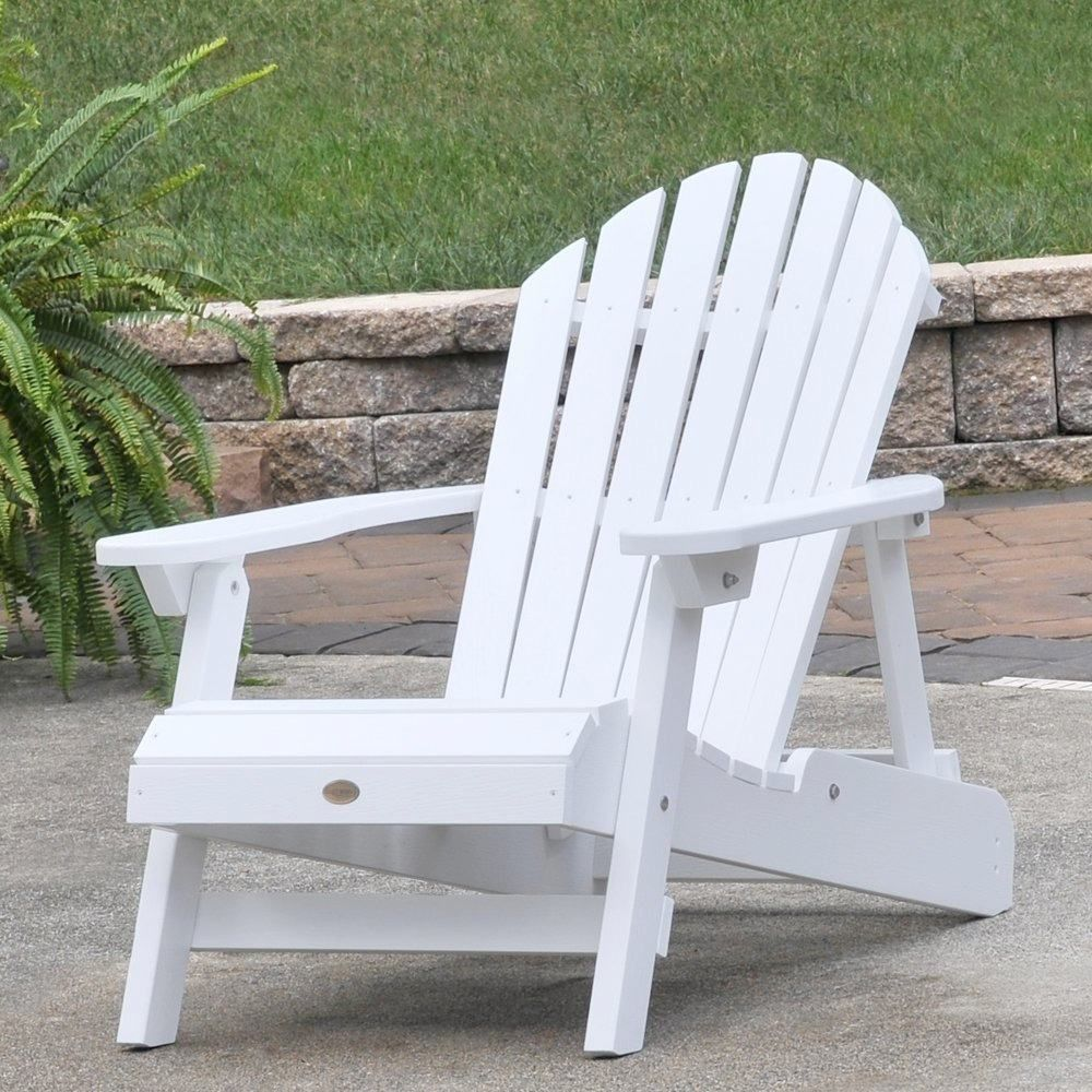 Highwood adirondack outside white White adirondack chairs
