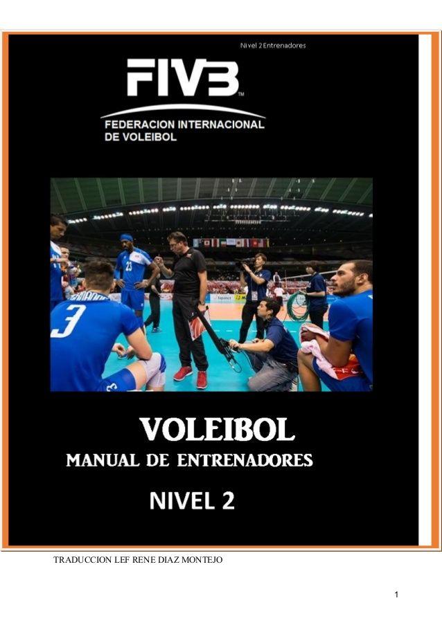 fivb manual del entrenador de voleibol 2 apuntes recursos rh pinterest com Youth Basketball Coaching Manual Basketball Coaching Manual