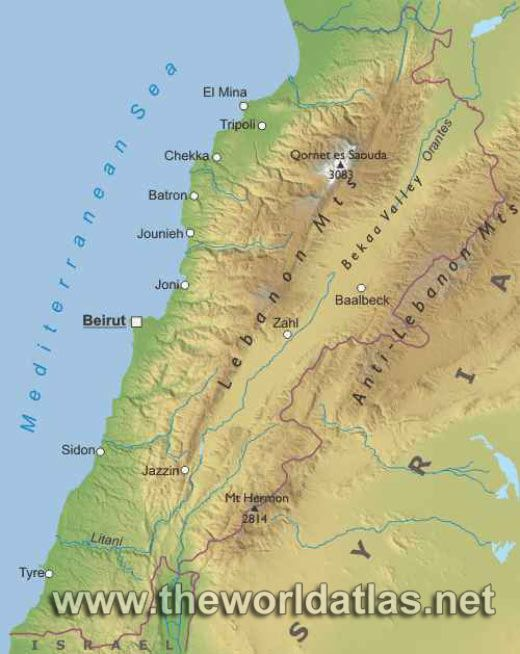 Lebanon BOOK Maps Pinterest Lebanon
