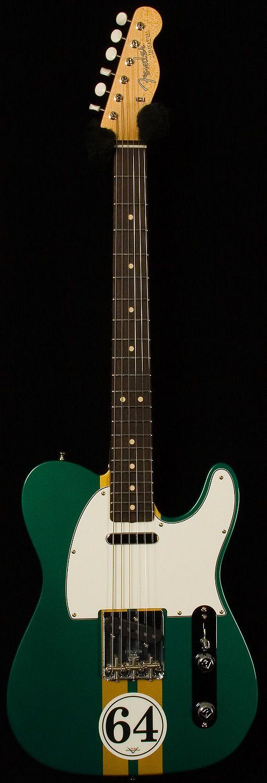 fender custom shop - namm 2014 masterbuilt 1964 telecaster nos. 64.