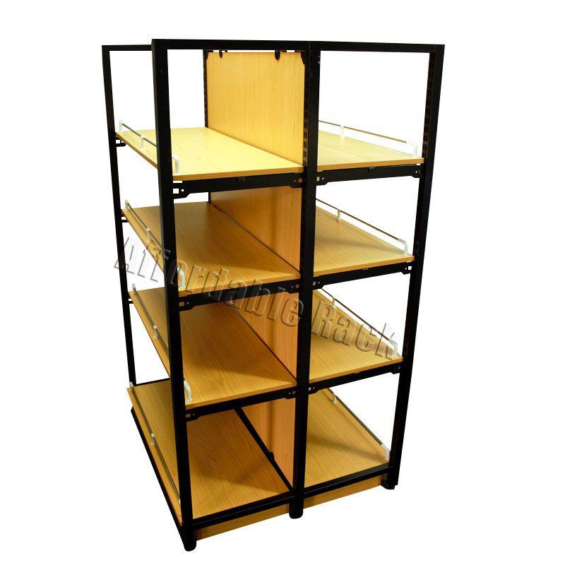 Deluxe Wooden Display Shelving Racking Retail Shelving Display Shelves Shelves