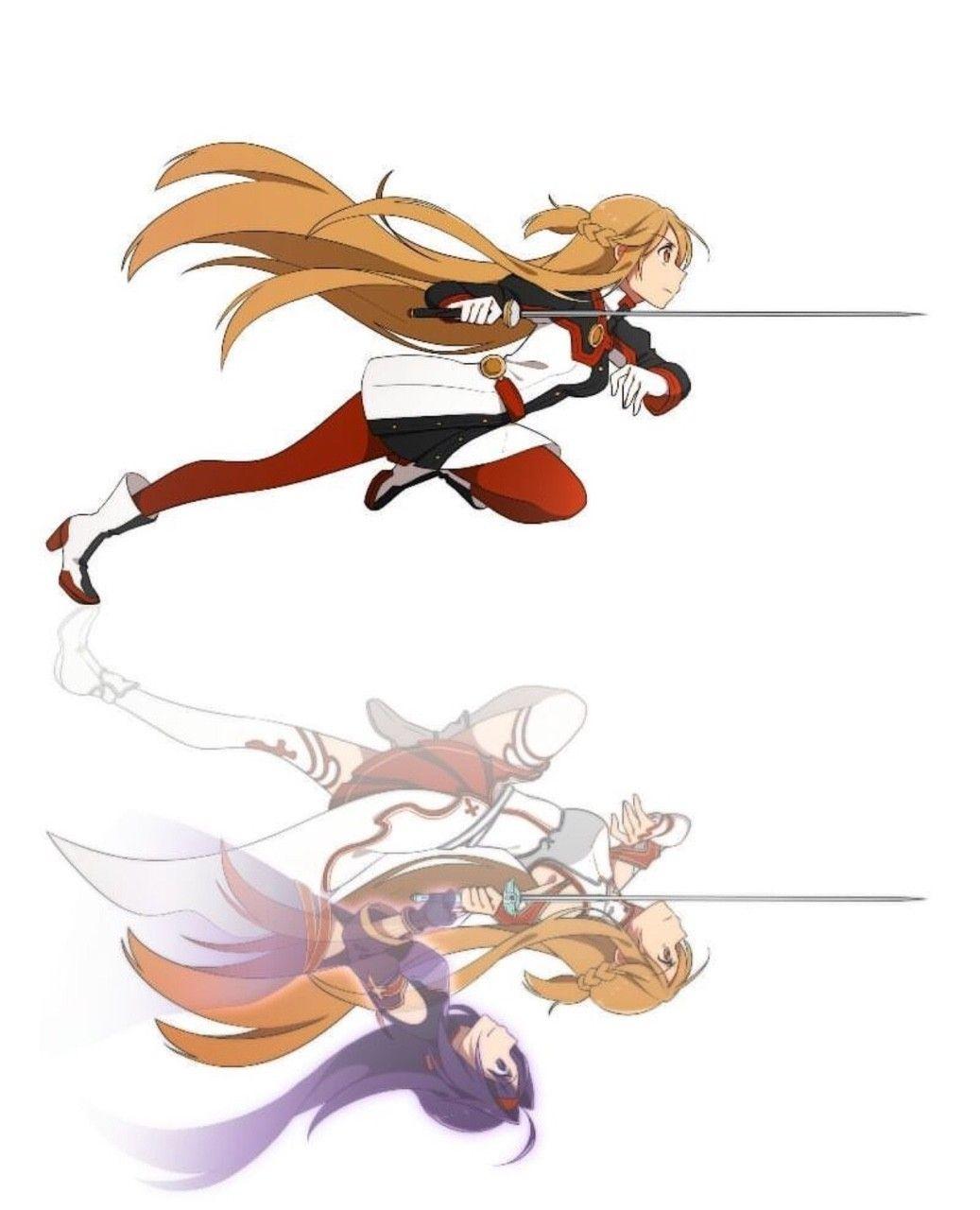 Asuna (SAO Ordinal Scale), Asuna & Yuuki (ALO) (Mother\'s Rosario ...