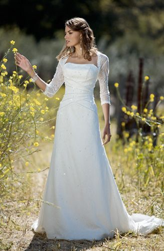 simple beauty | Wedding dress | Pinterest | Wedding, Sleeve and Gowns