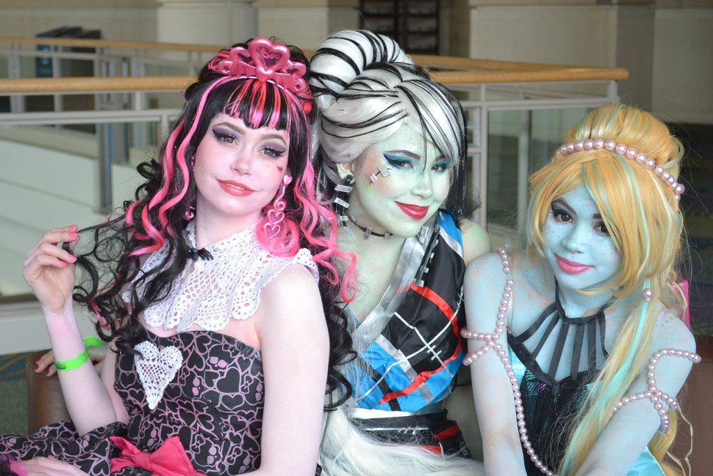 Monster High Cosplay: Ghoulfriends! by ~CassowaryMarie on deviantART