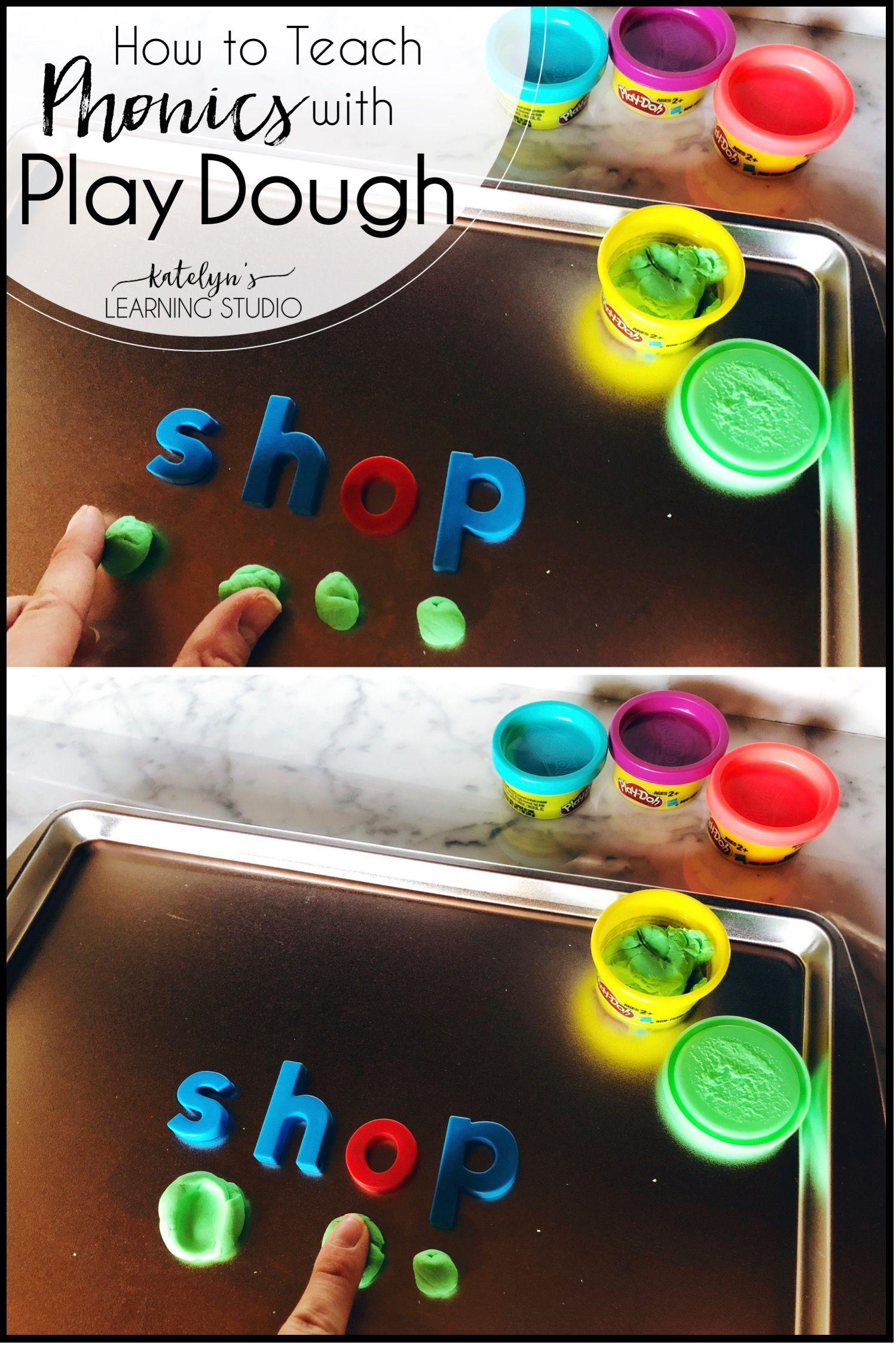 Use Playdough to Teach Phonics | Reading Specialist
