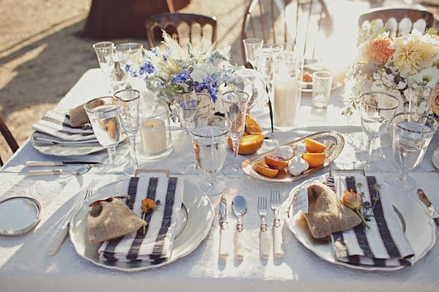 Tablescapes: A Twilight Inspired Wedding
