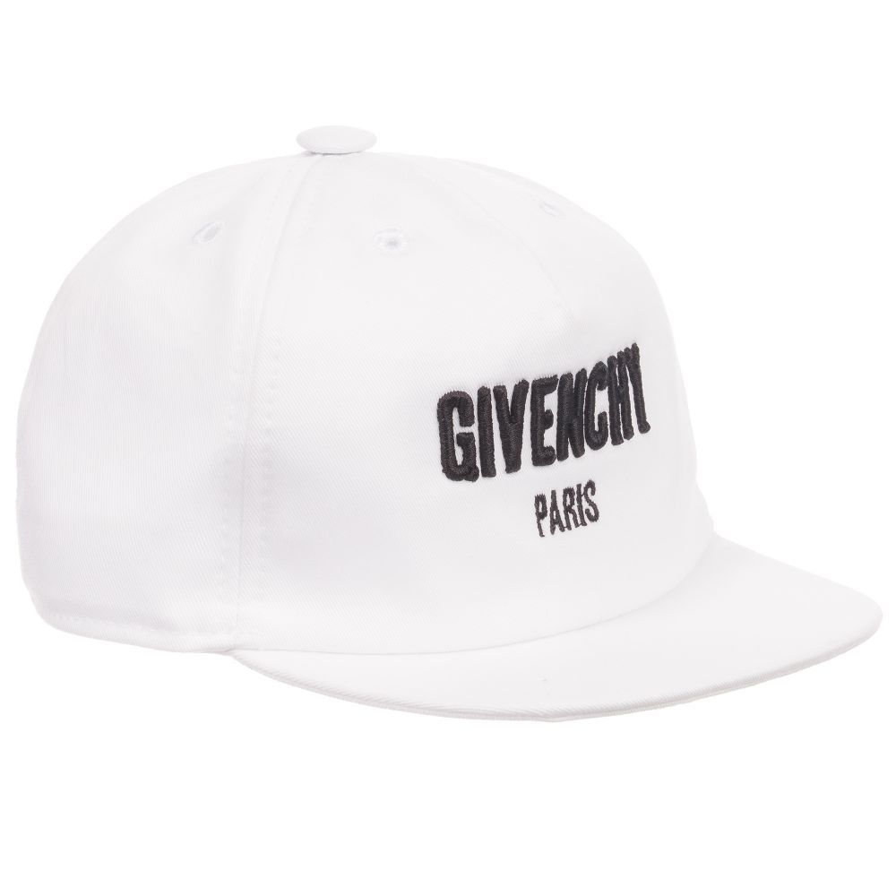 20dbadb0e2b Boys will look designer cute in this baseball cap by Givenchy Kids. This  sporty design