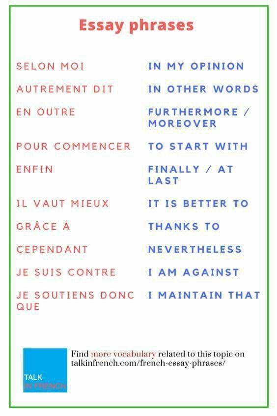 Pdf through learning french english