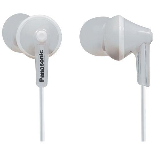 Panasonic Earbud Headphones, #RP-TCM125-W