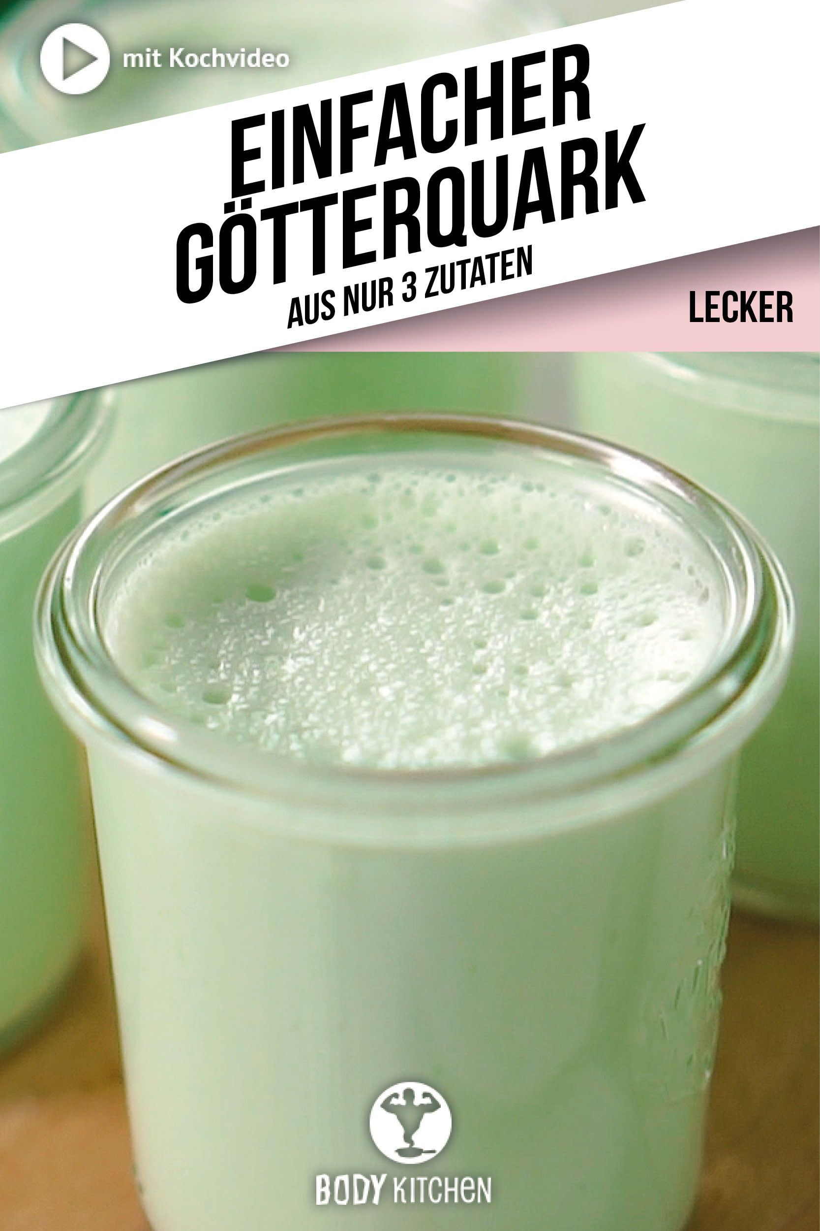 Götterquark - Fitness-Rezept von BODY KITCHEN