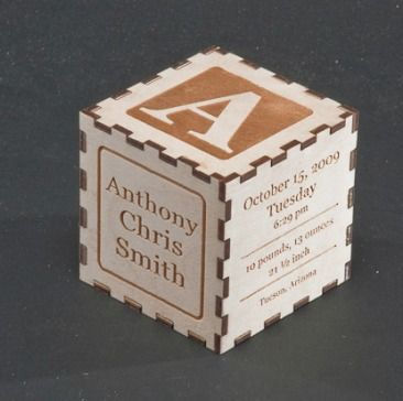 Baby gift keepsake personalized wood alphabet block laser cut baby gift keepsake personalized wood alphabet block negle Image collections
