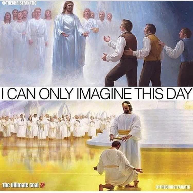 Amen If You Imagine.. Bible God Love Redeemed Saved