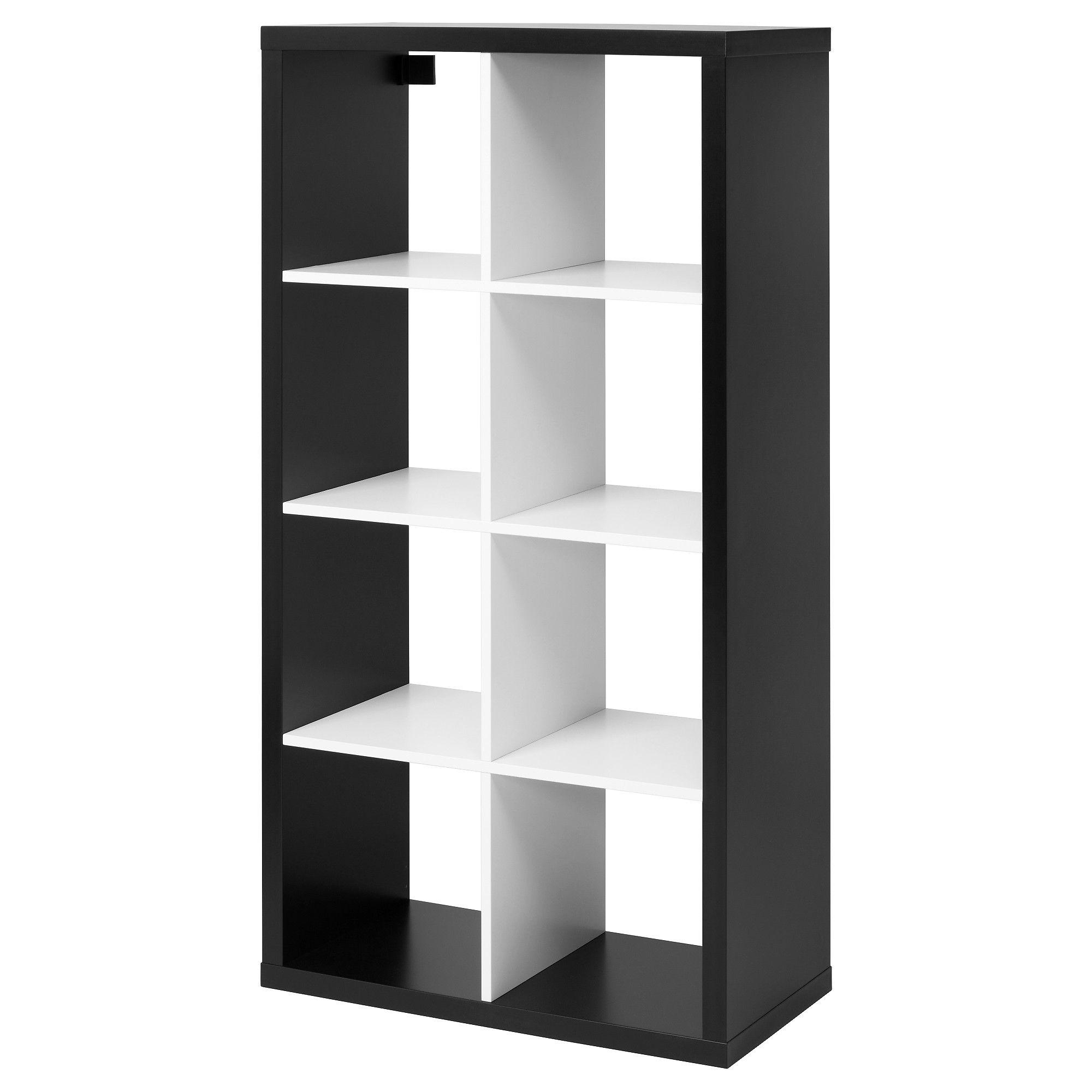 Ikea regalsystem kallax  KALLAX, Regal, schwarz, weiß Jetzt bestellen unter: https://moebel ...