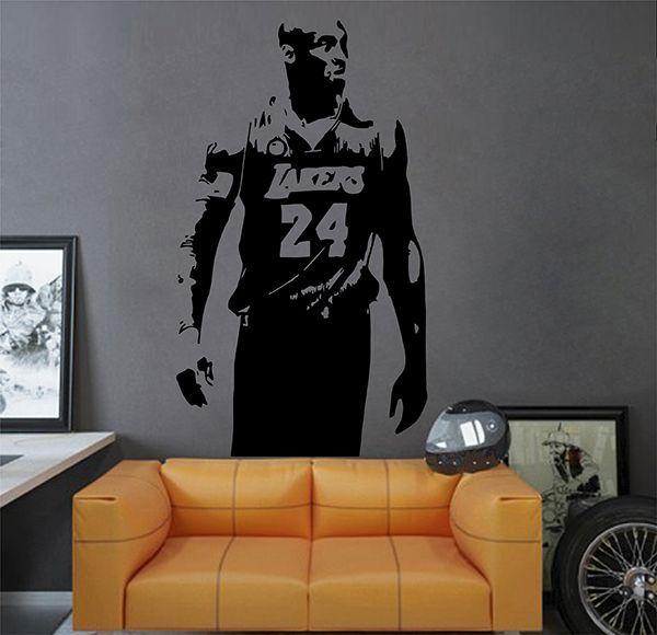 Nice Ik2931 Wall Decal Sticker Lakers Kobe Bryant Sports Hall Bedroom