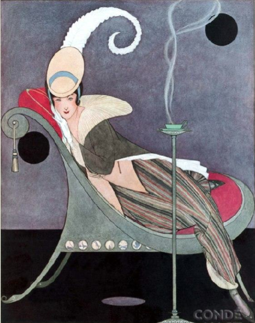 Illustration by Helen Dryden (1887-1981), 1914, Vogue.