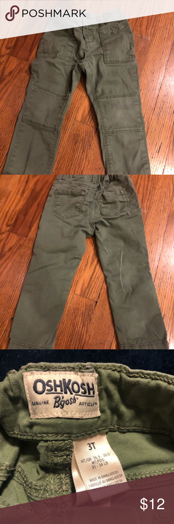 Cargo Skinnies! Adorable cargo style skinny cotton pants