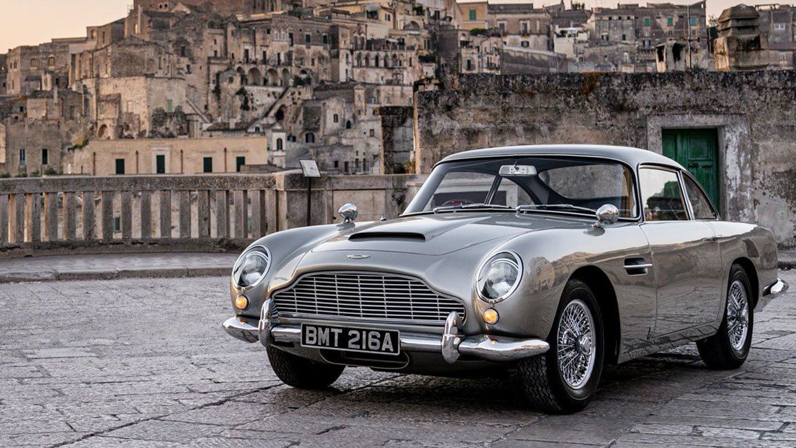 'Bond 25': These 4 Aston Martin Cars Are Featured in 'No Time to Die'